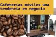 cafetería móvil