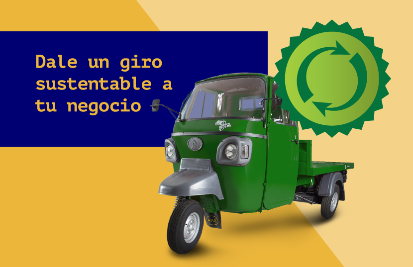 negocio móvil más sustentable