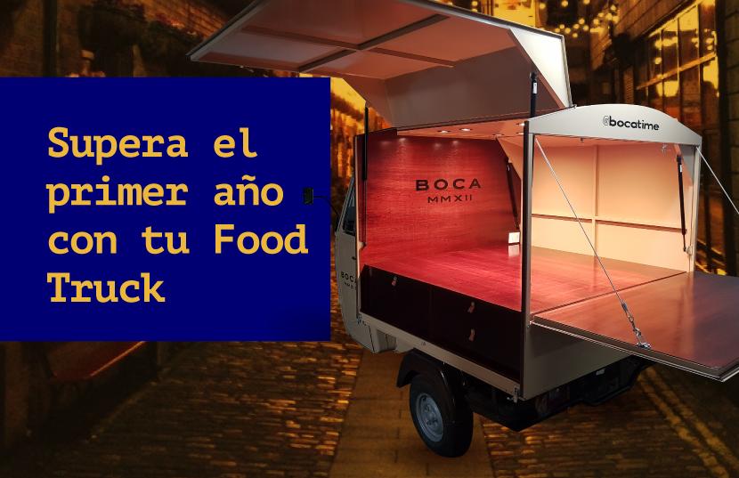 primer año con un food truck