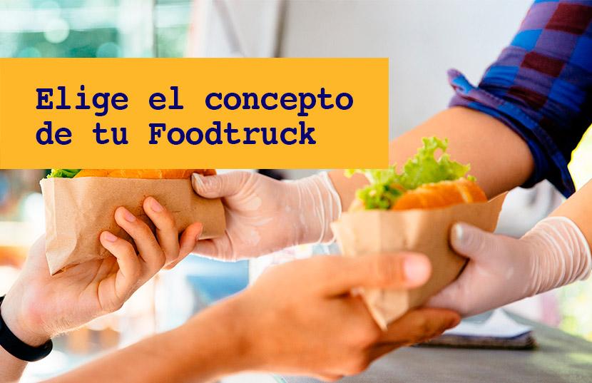elige el concepto de un Food Truck