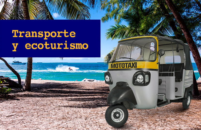 transporte ecológico para destinos turísticos