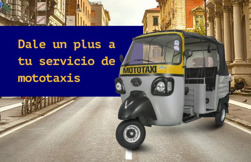incrementar ganancias con el servicio de mototaxis