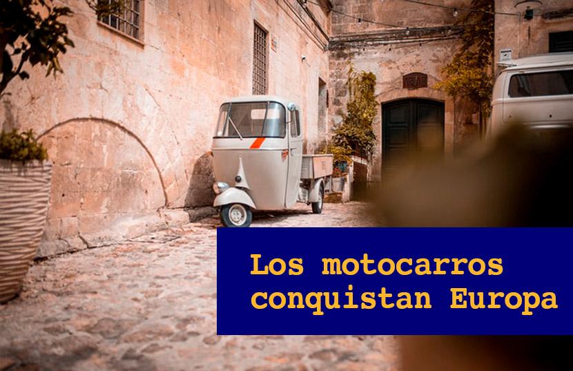 motocarros conquistan Europa